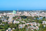 Santa Clara, Cuba, skyline from the Capiro Hill, 2019