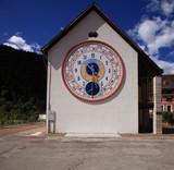 Italia, Friuli-Venezia Giulia, Pesariis, la città degli orologi.
