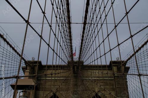 Fototapeten Brooklyn Bridge Brookling bridge of new york