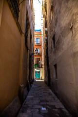 Paseo por el casco antiguo de Barcelona