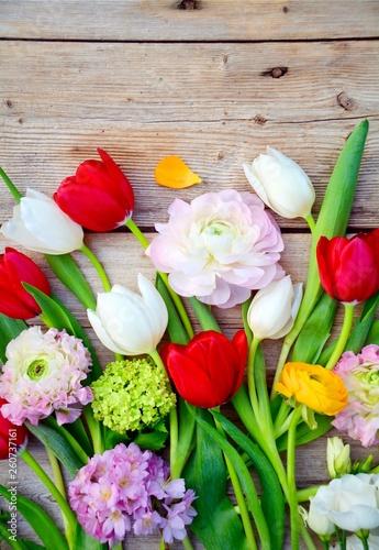 Frühling - Frühlingsblumen Blumenstrauß
