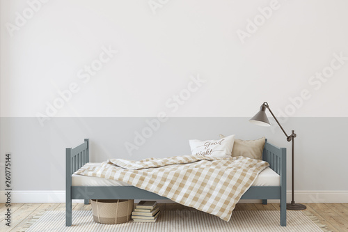 Toddler room. 3d render. © poligonchik