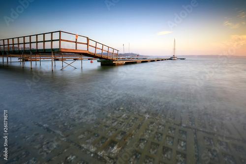 Acrylglas Pier Lake Tarnobrzeg