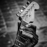 Blues guitar hand 2