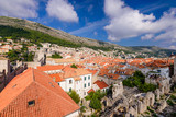 Dubrovnik old town, a popular tourist destination in Croatia