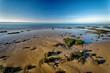 canvas print picture - Bassin d'Arcachon, Coucher de Soleil