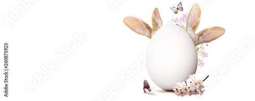 Ostern Kollage mit Osterhase - 260875923