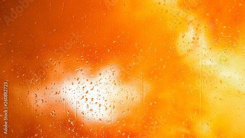 Orange Yellow Amber Background