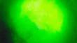 Leinwandbild Motiv Green Light Yellow Background
