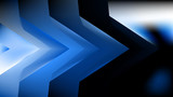 Blue Black Electric Background