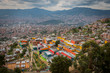 Panoramic view of Medellin from the hills - 260904703