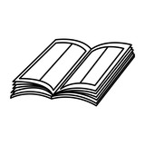 text book open icon