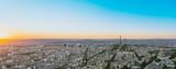 Paris, Eiffel tower at evening, France, Europe