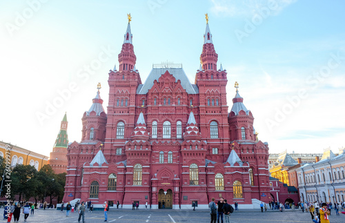 State historical Museum in Moscow on red square