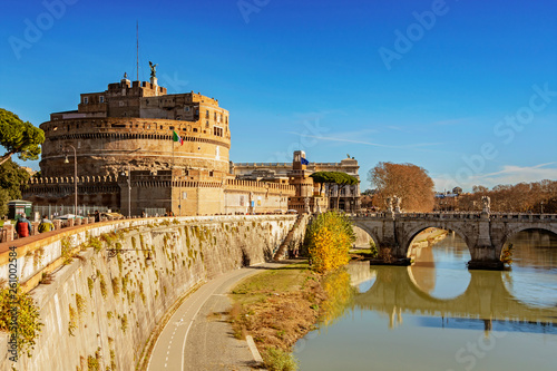 Castle of Saint Angel in Rome © pab_map