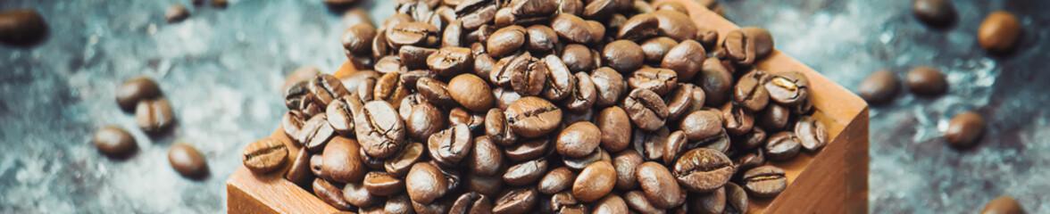 Coffee cup. Food and drink. Selective focus. © yanadjan