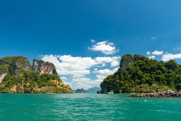 Beautiful islands of Krabi province