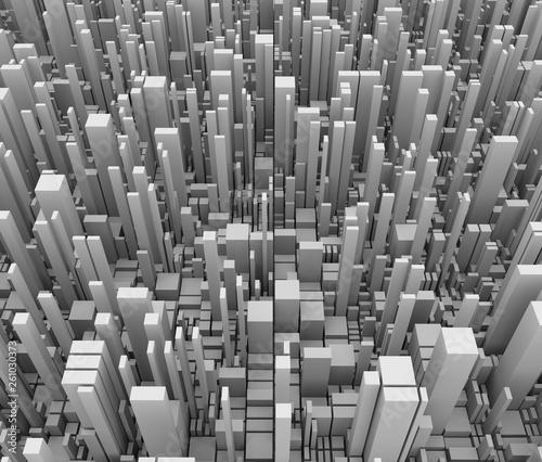 都市のイメージの抽象的な背景素材 - 261030373