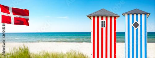 Strandhäuschen in dänemark - 261045388