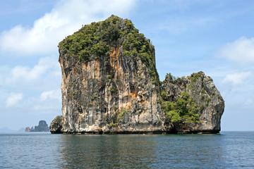 Felsinsel bei Krabi, Thailand