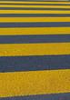 canvas print picture - Fussgängerstreifen - Zebrastreifen zur Sicherheit für Fussgänger
