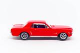 Ford mustang koloru czerwonego model
