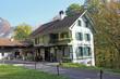 canvas print picture - Haus, Alpen, Schweiz