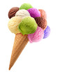 Leinwandbild Motiv Ice cream