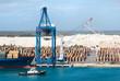 Quadro Grand Bahama Island Port Containers