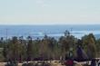 canvas print picture - Ein Panoramafoto mit Blick auf den Oslo Fjord