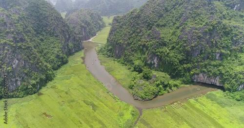 Flycam mountain 4K
