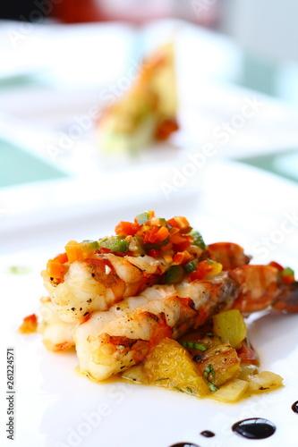 shrimp cuisine - 261224571