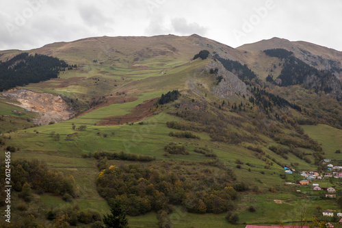Mountain and Wold landscape