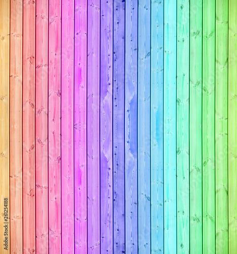 Bois bandes verticales couleurs