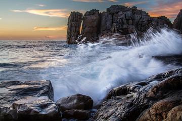 côte rocheuses © philkilla