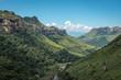 canvas print picture - Die Drakensberge in Südafrika und Lesotho