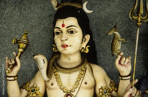 canvas print picture hindutempel auf sri lanka