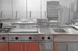 Leinwandbild Motiv Kitchen Restaurant