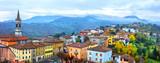 Beautiful scenic medieval villages of Italy - Vernaska in Piacenza. Emilla-romagna region