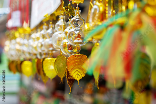 Fototapeten Bangkok thai souvenirs on the street market