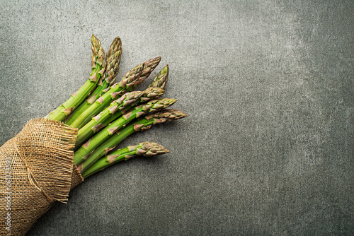 Leinwandbild Motiv Asparagus
