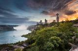 Niagara Falls by night from Canada