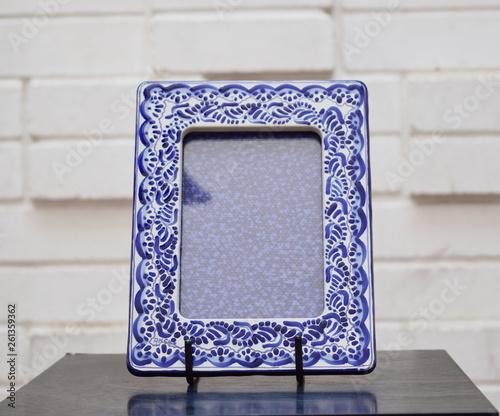 marcos o cuadros de talavera, fotografía de producto, puebla © Andres