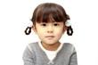 幼児の笑顔(4歳児) (白バック)