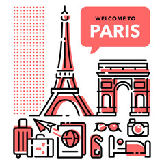 Welcome to Paris Red