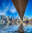 Brooklyn Bridge. - 261398929