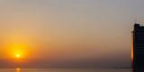 minimalistic sunrise