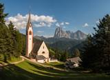 Chiesa di San Giacomo, Ortisei, Val Gardena, Bolzano, Trentino Alto Adige, Italia