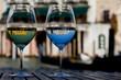 canvas print picture - Venedig im Glas