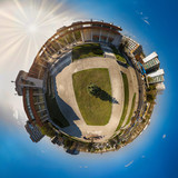 Miniature planet of Kishinev